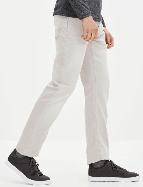 شلوار جین راسته مردانه - طوسي روشن - 6