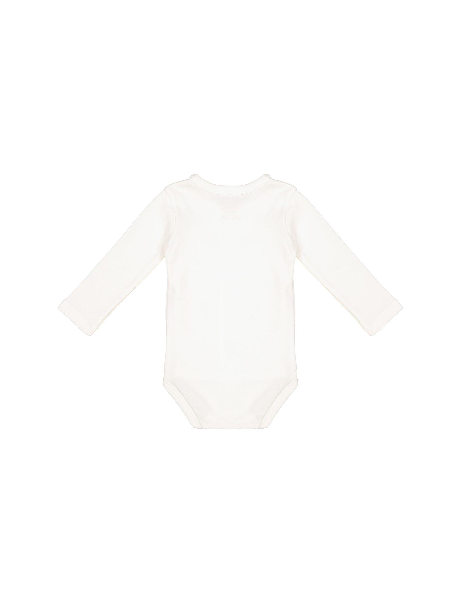 تی شرت و شلوار نخی نوزادی دخترانه - ال سی وایکیکی - کرم    - 4