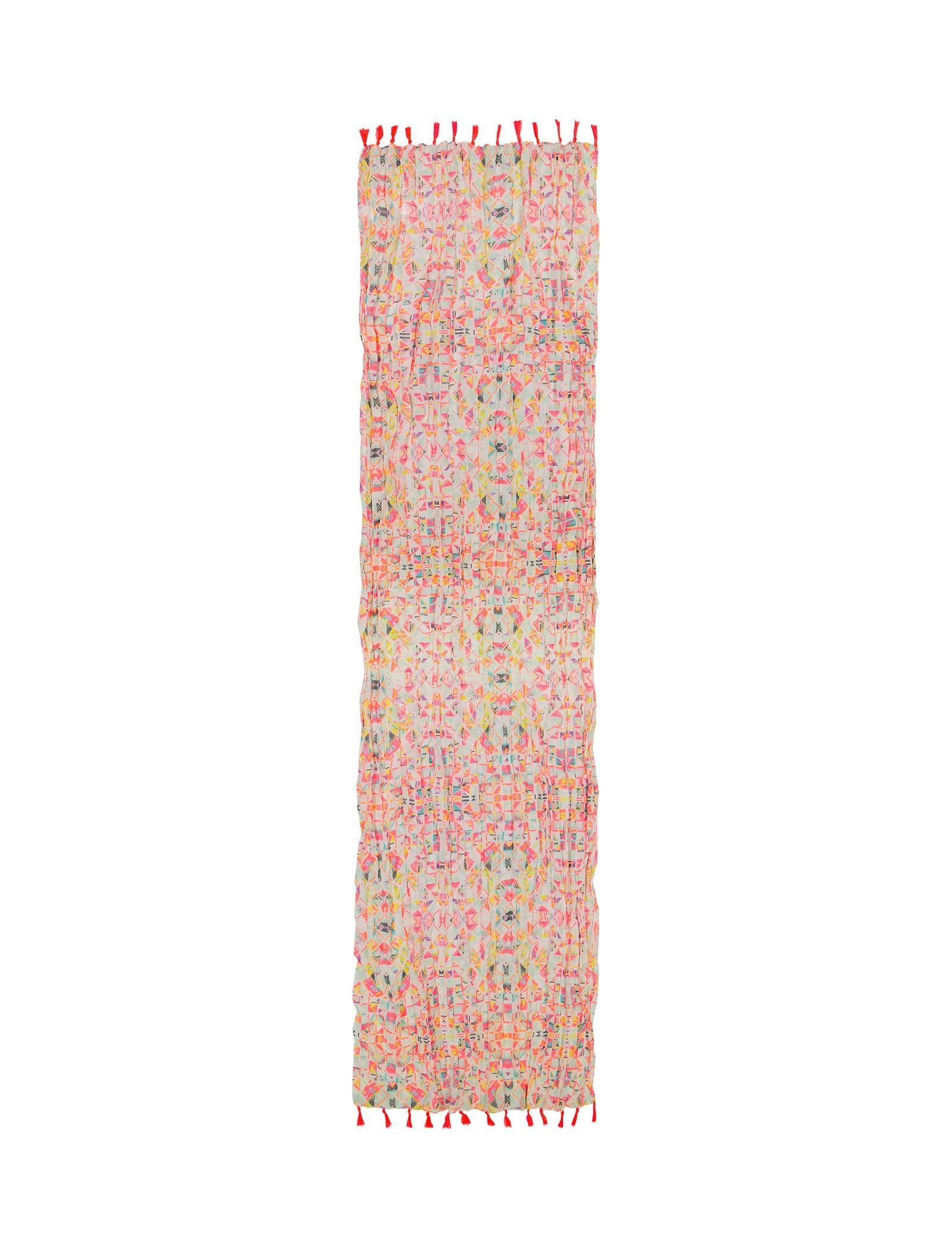 شال طرح دار زنانه - ال سی وایکیکی - صورتي - 1