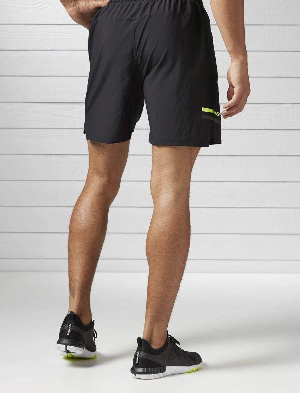شلوارک ورزشی ساده مردانه Running - ریباک