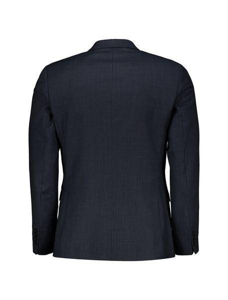 کت تک رسمی پشمی مردانه - سرمه اي - 2