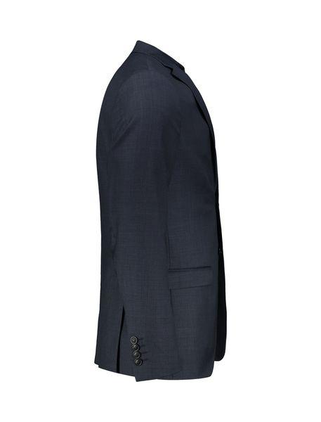 کت تک رسمی پشمی مردانه - سرمه اي - 3