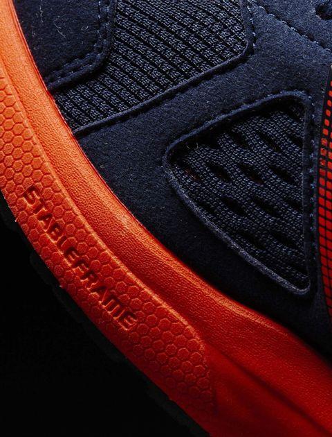 کفش دویدن بندی مردانه Adizero Tempo 8 - آدیداس - سرمه اي و نارنجي - 3