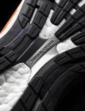 کفش دویدن بندی مردانه Adizero Tempo 8 - آدیداس - سرمه اي و نارنجي - 4