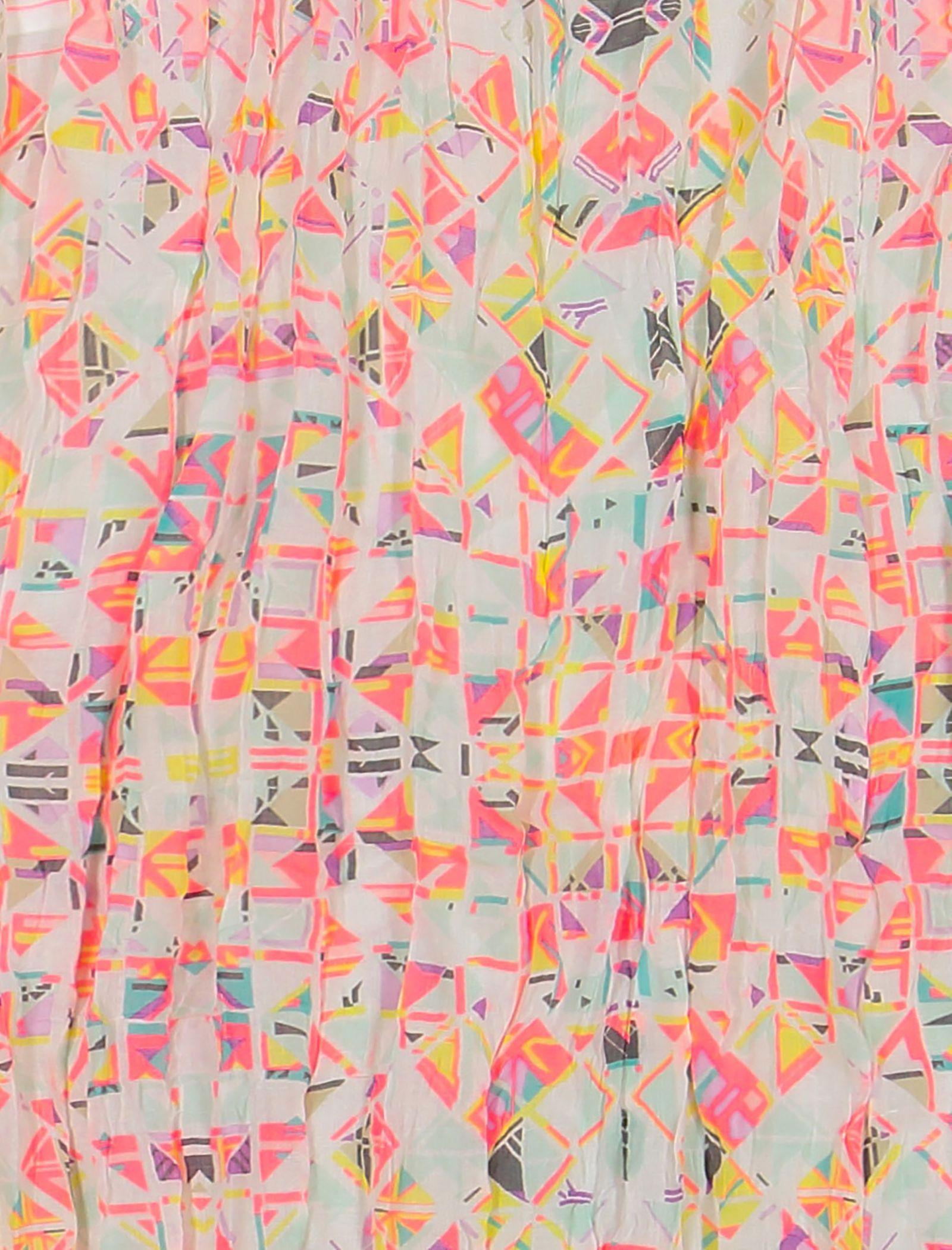 شال طرح دار زنانه - ال سی وایکیکی - صورتي - 4