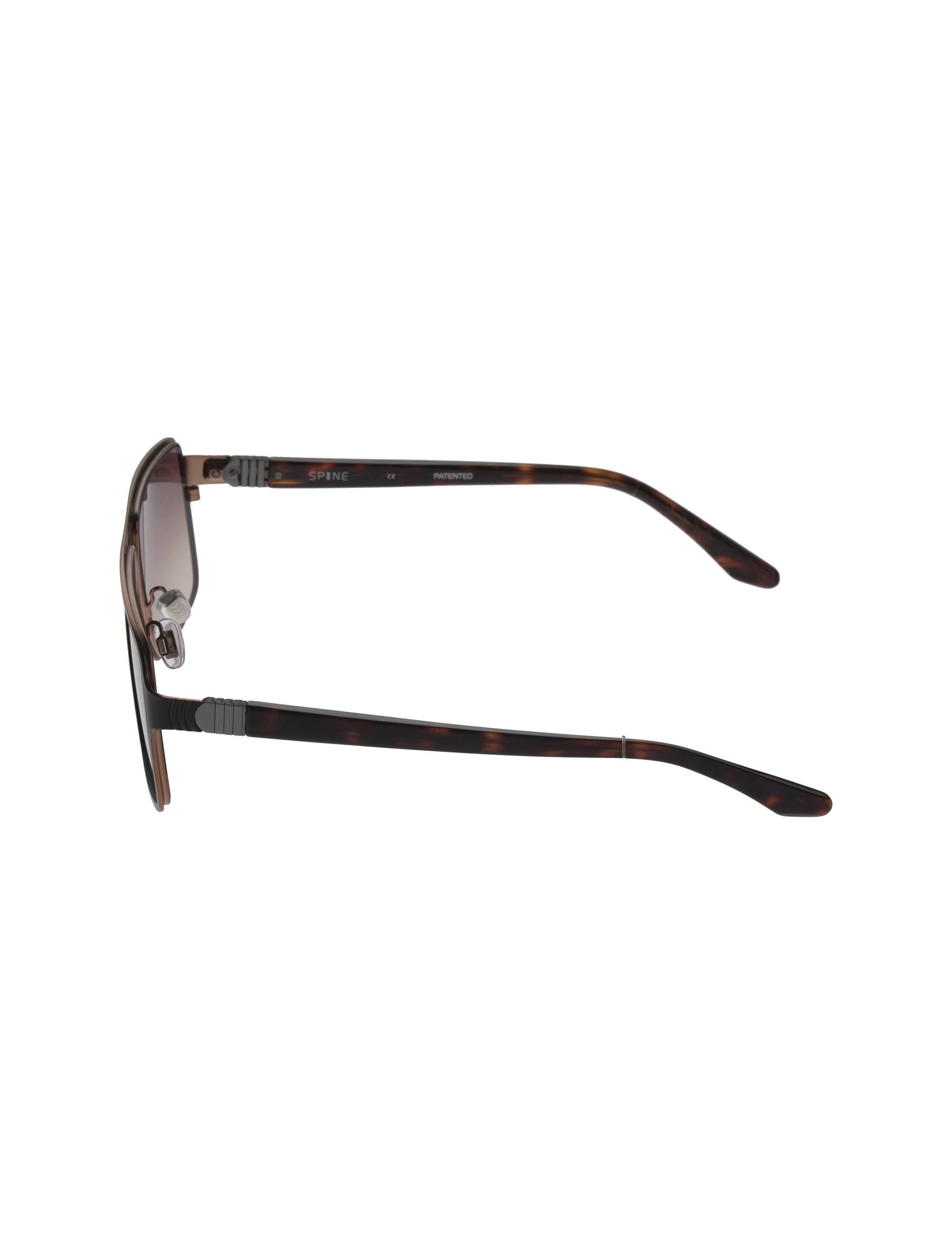 عینک آفتابی خلبانی مردانه - مشکي - 3