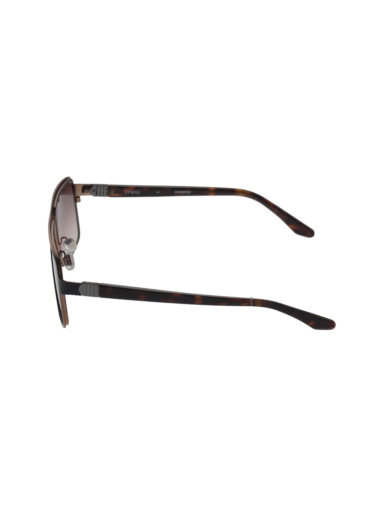 عینک آفتابی خلبانی مردانه - اسپاین - مشکي - 3