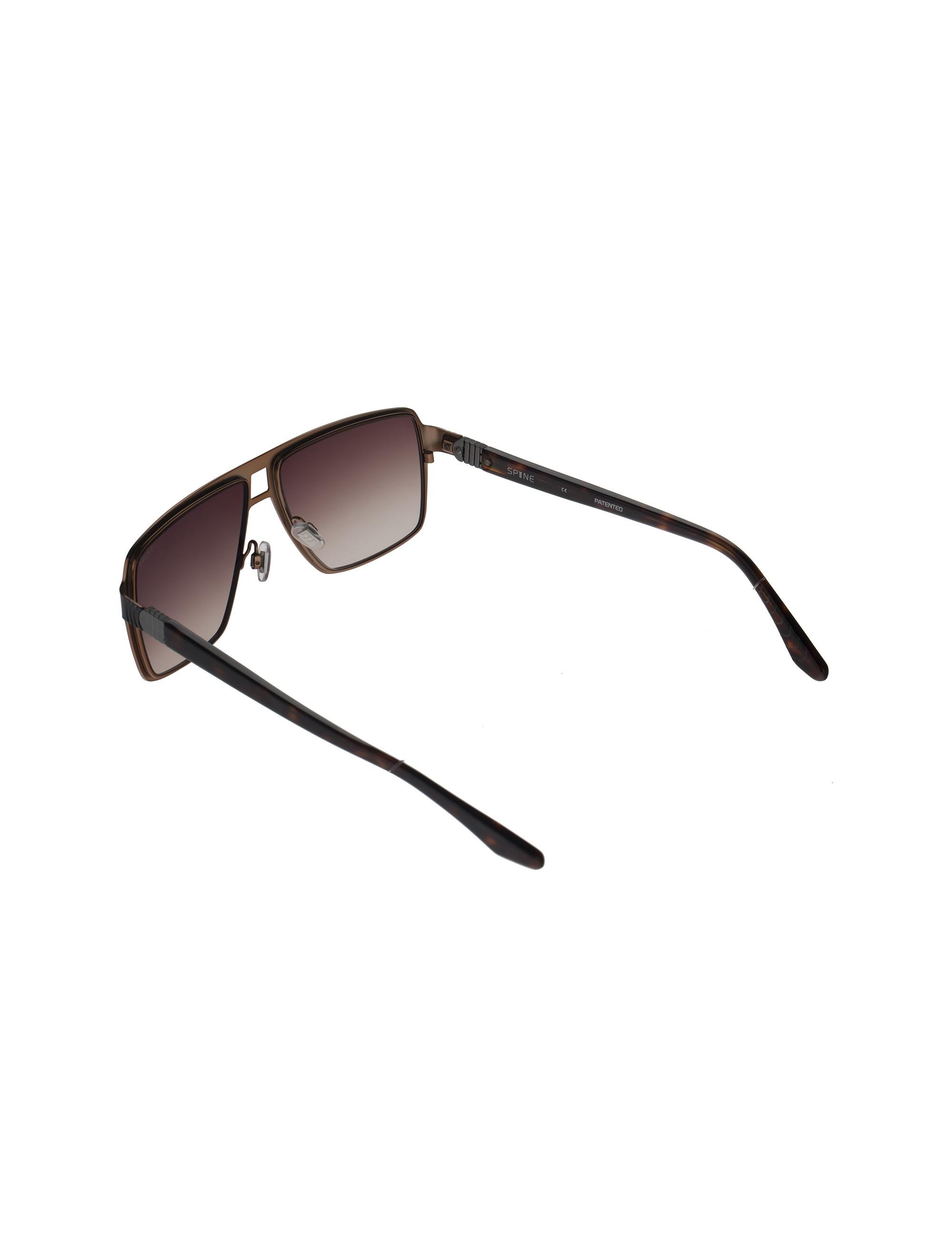 عینک آفتابی خلبانی مردانه - اسپاین - مشکي - 4