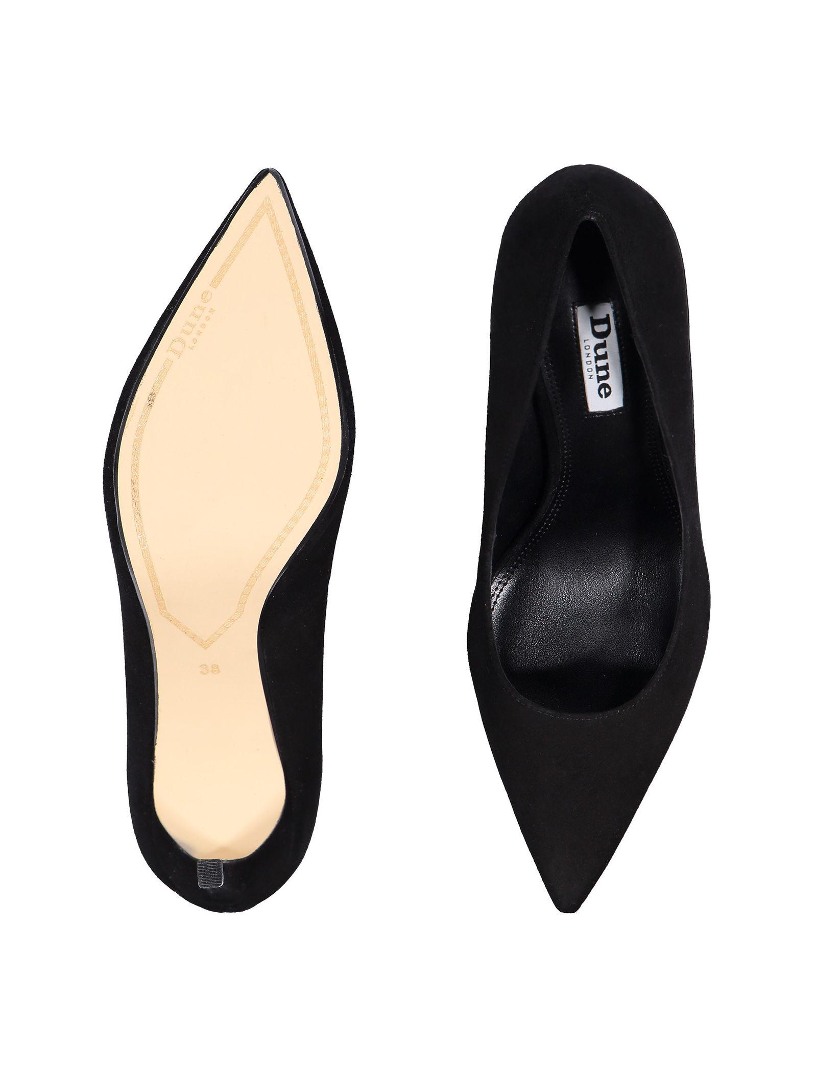 کفش پاشنه بلند جیر زنانه - دون لندن - مشکي - 2