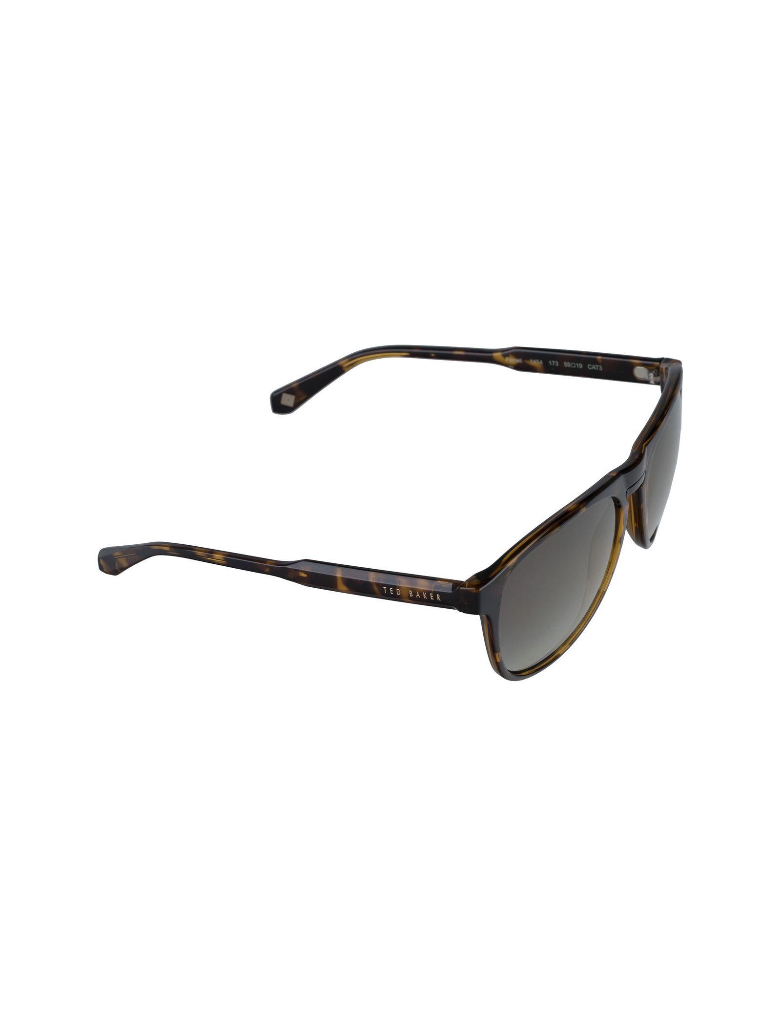 عینک آفتابی خلبانی زنانه - تد بیکر - قهوه اي لاک پشتي - 4