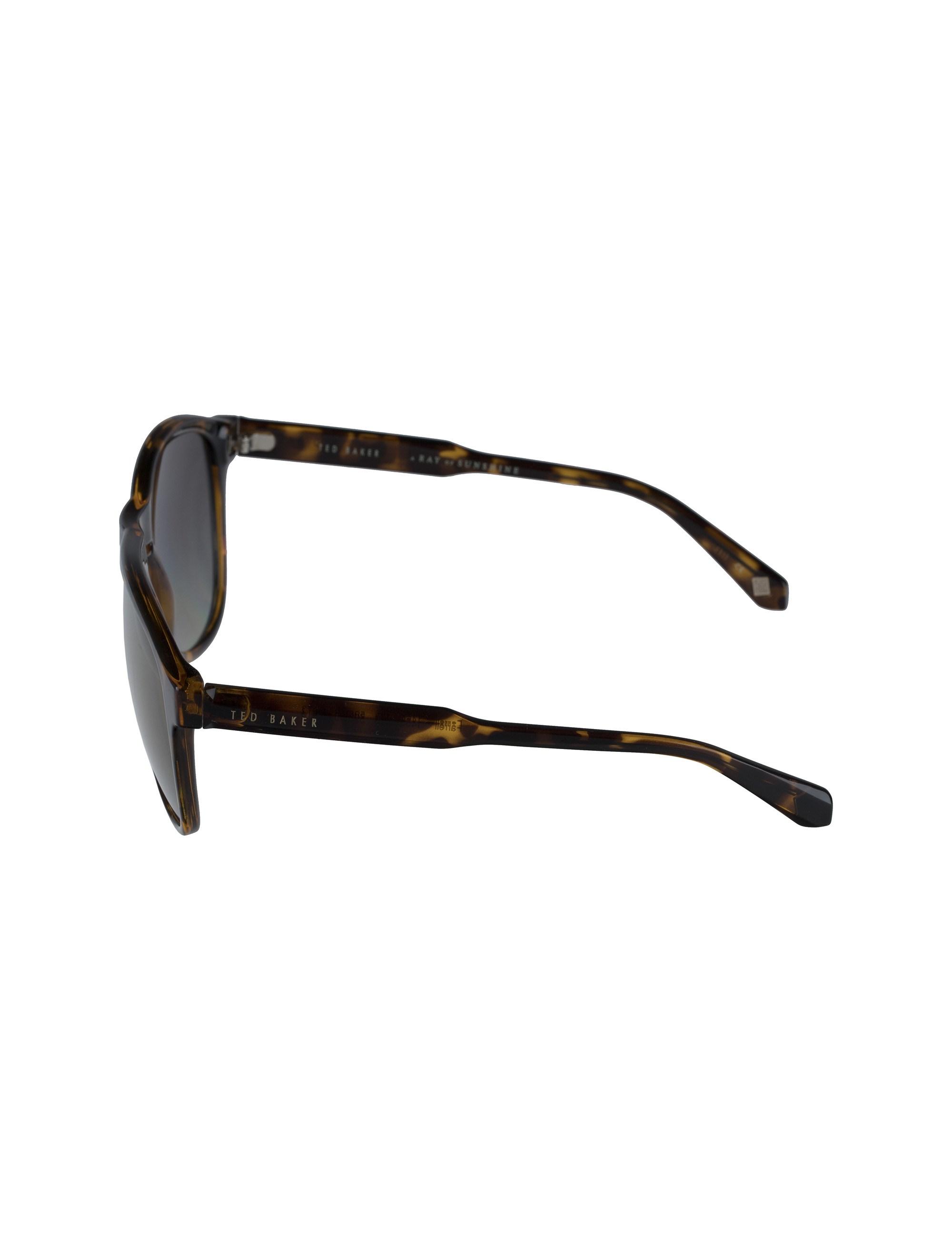 عینک آفتابی خلبانی زنانه - تد بیکر - قهوه اي لاک پشتي - 5