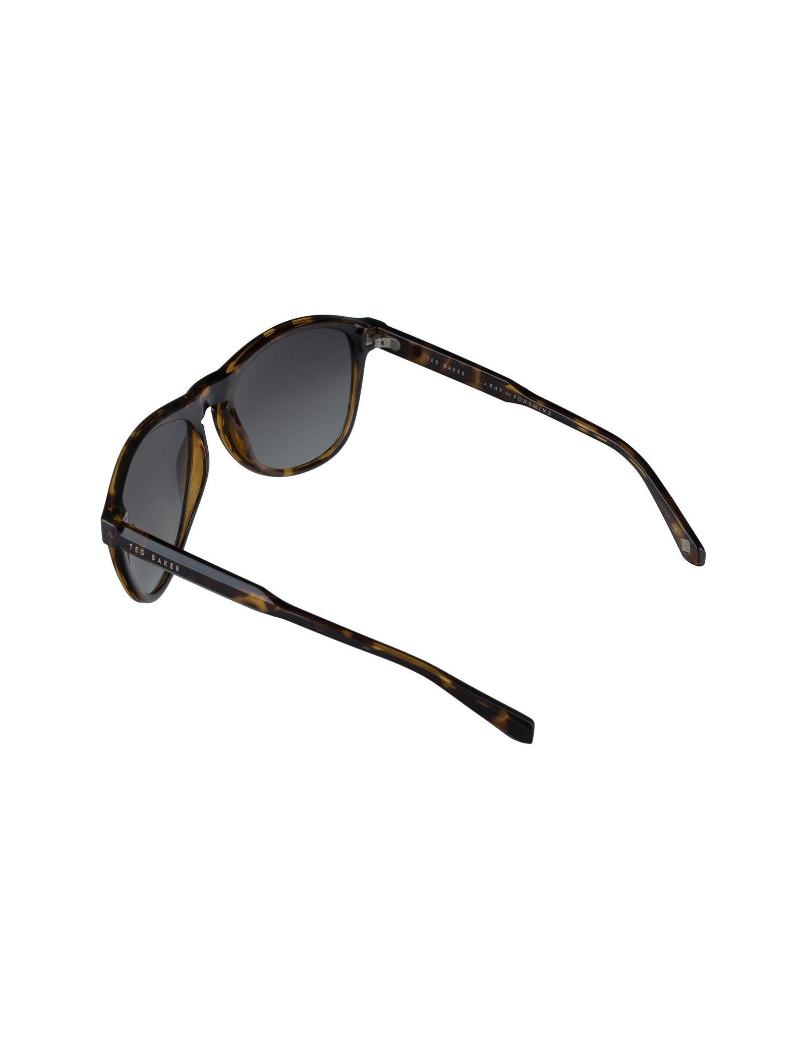 عینک آفتابی خلبانی زنانه - تد بیکر - قهوه اي لاک پشتي - 6