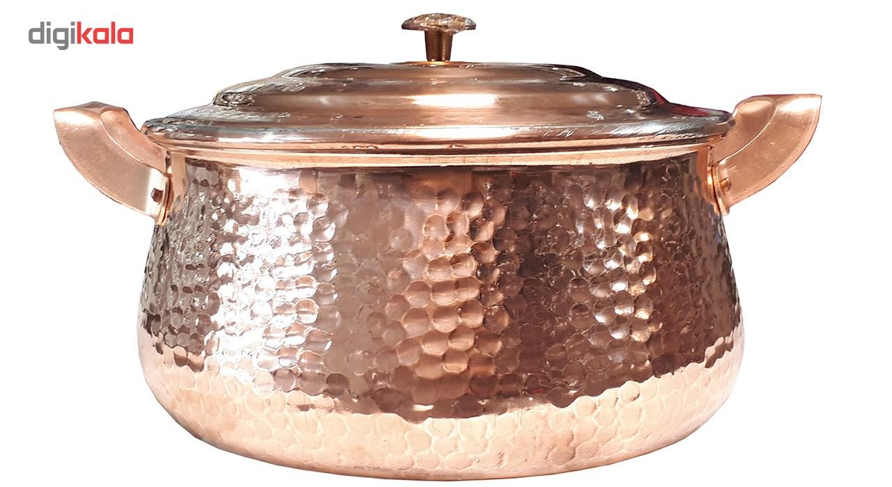 Copper pan, Model TIANCHEH, Single-sized, 3-quart