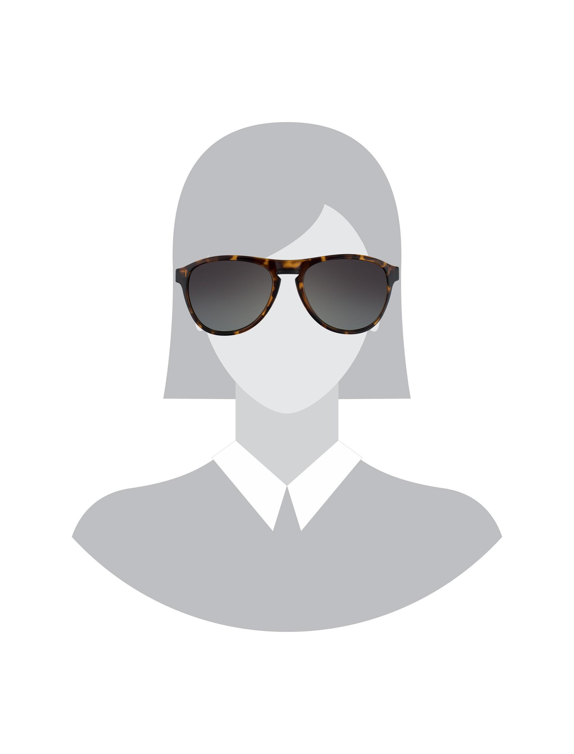عینک آفتابی خلبانی زنانه - تد بیکر - قهوه اي لاک پشتي - 7