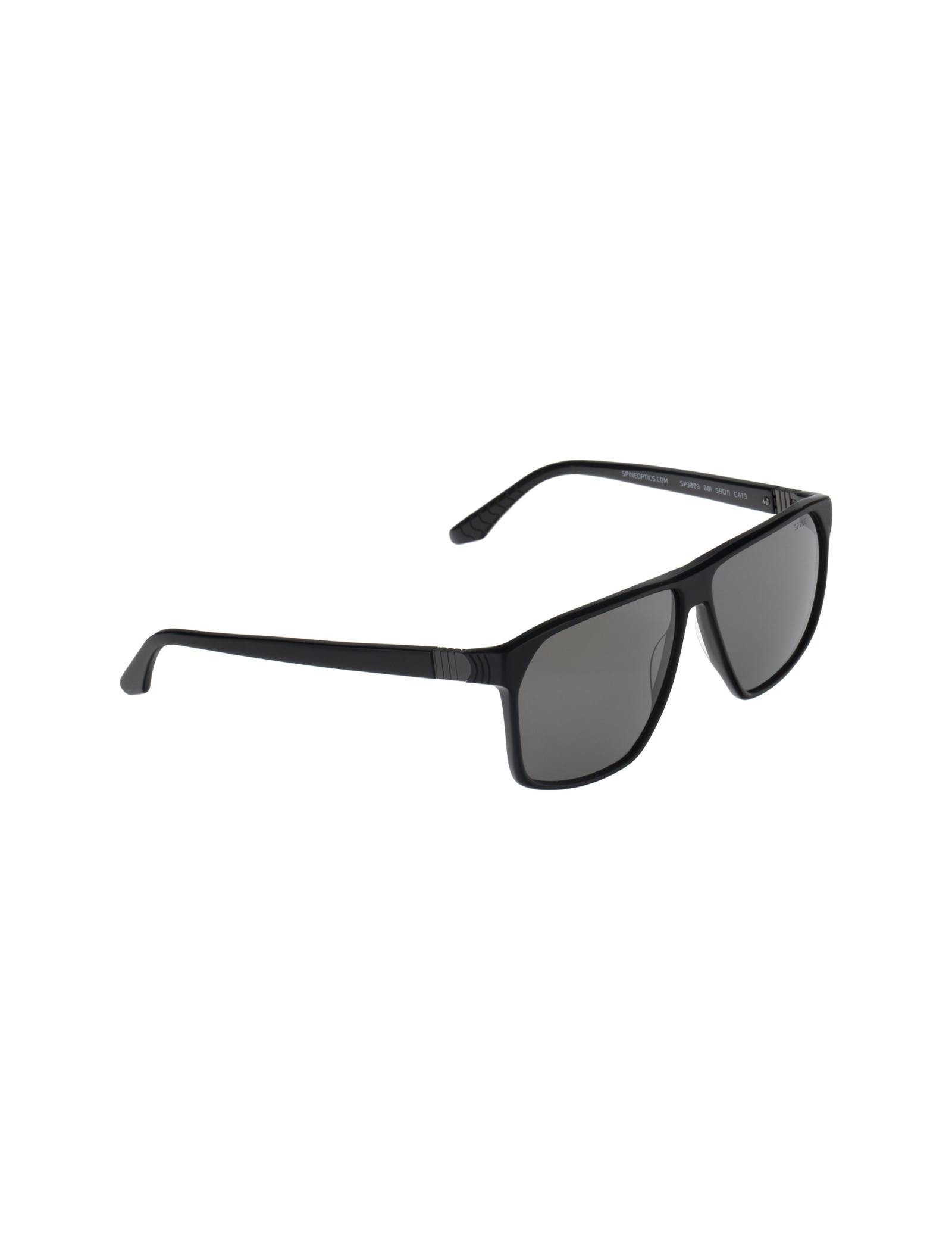 عینک آفتابی خلبانی مردانه - اسپاین - مشکي - 2