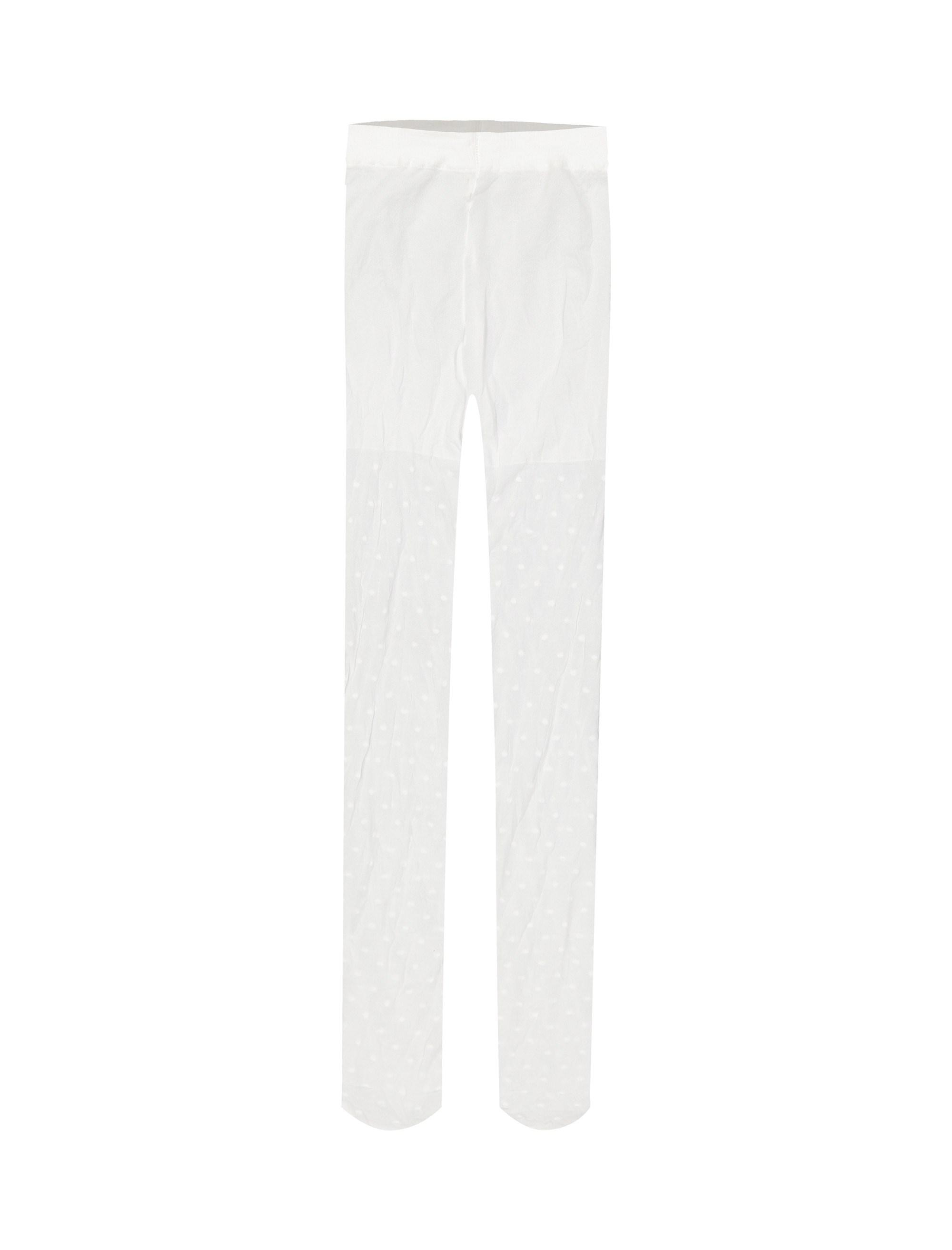 جوراب شلواری دخترانه بسته دو عددی - ارکسترا - سفيد - 3