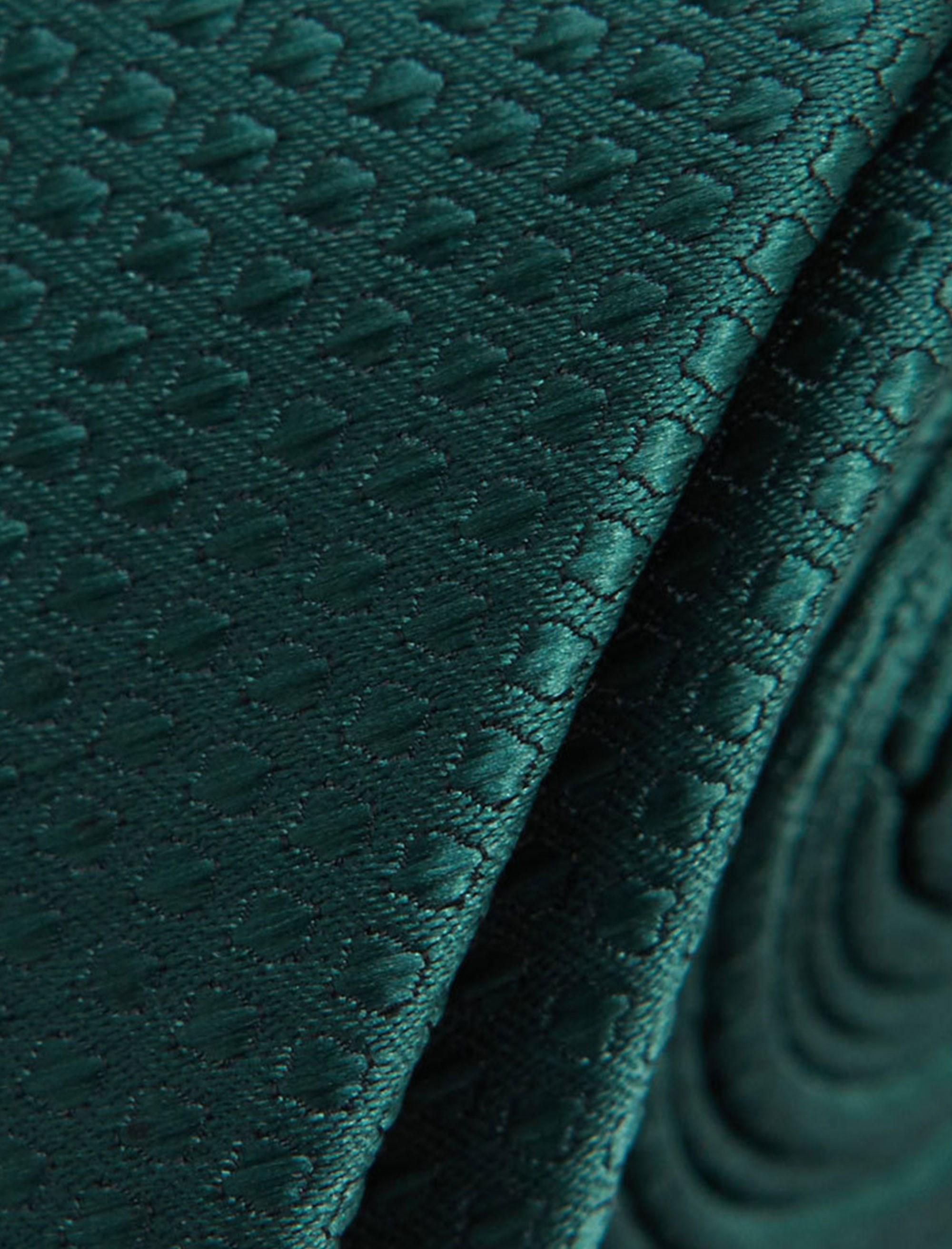 کراوات ساده  مردانه - مانگو - سبز - 4