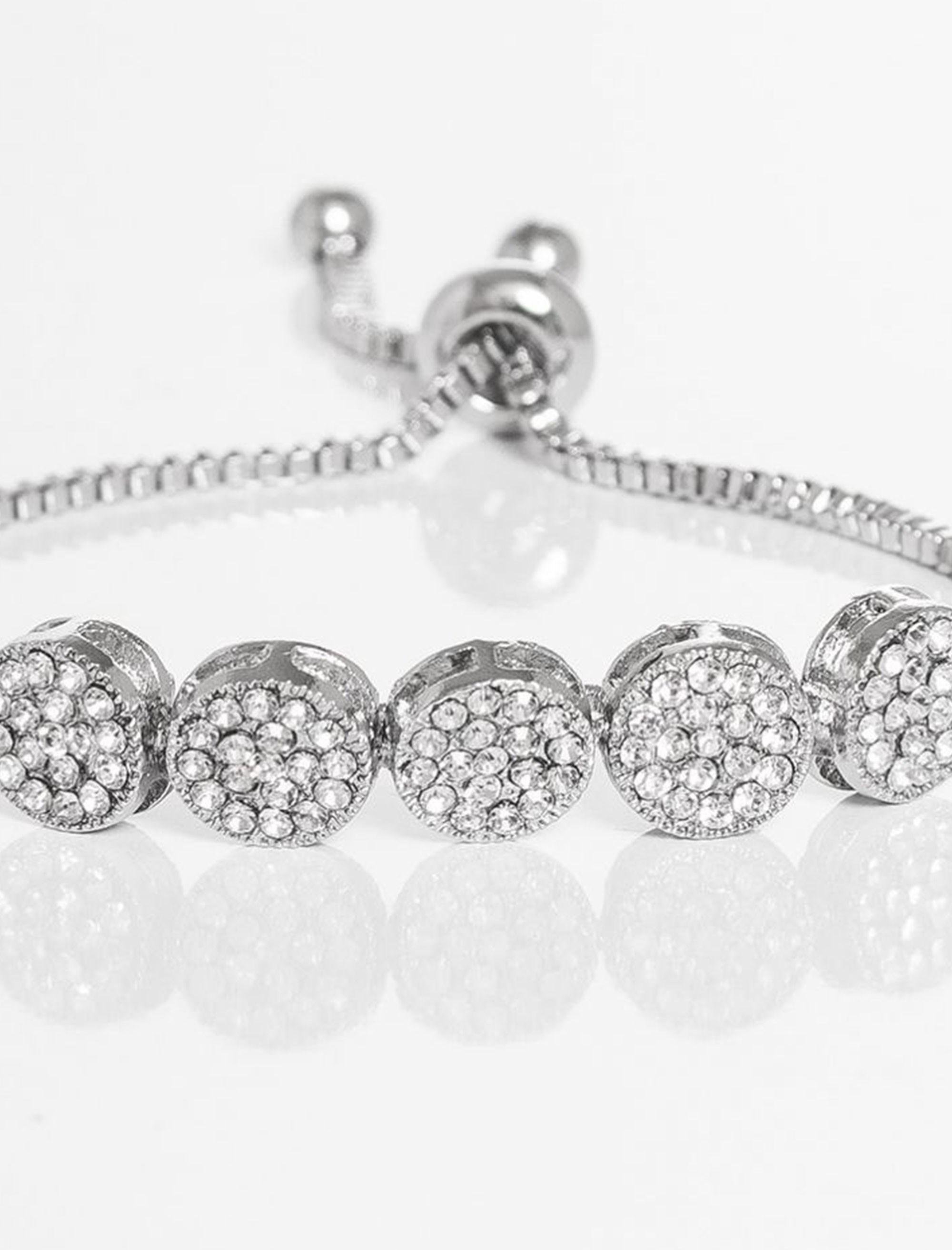دستبند زنجیری زنانه - کوییز - نقره اي - 4