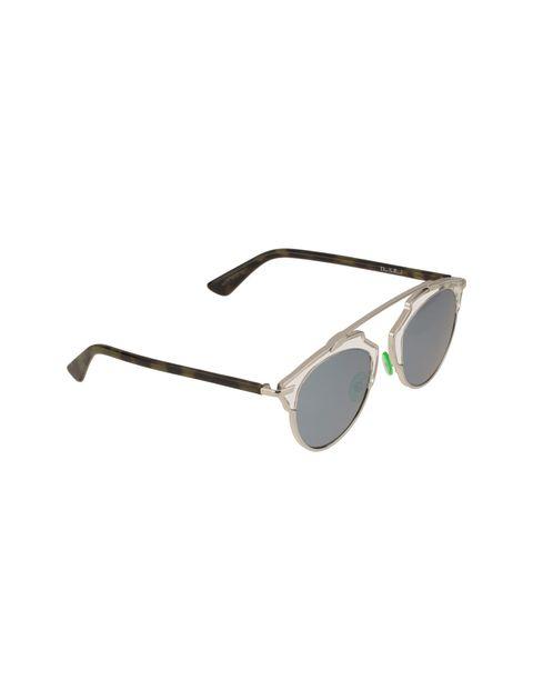 عینک آفتابی پنتوس زنانه - دیور - نقره اي - 2