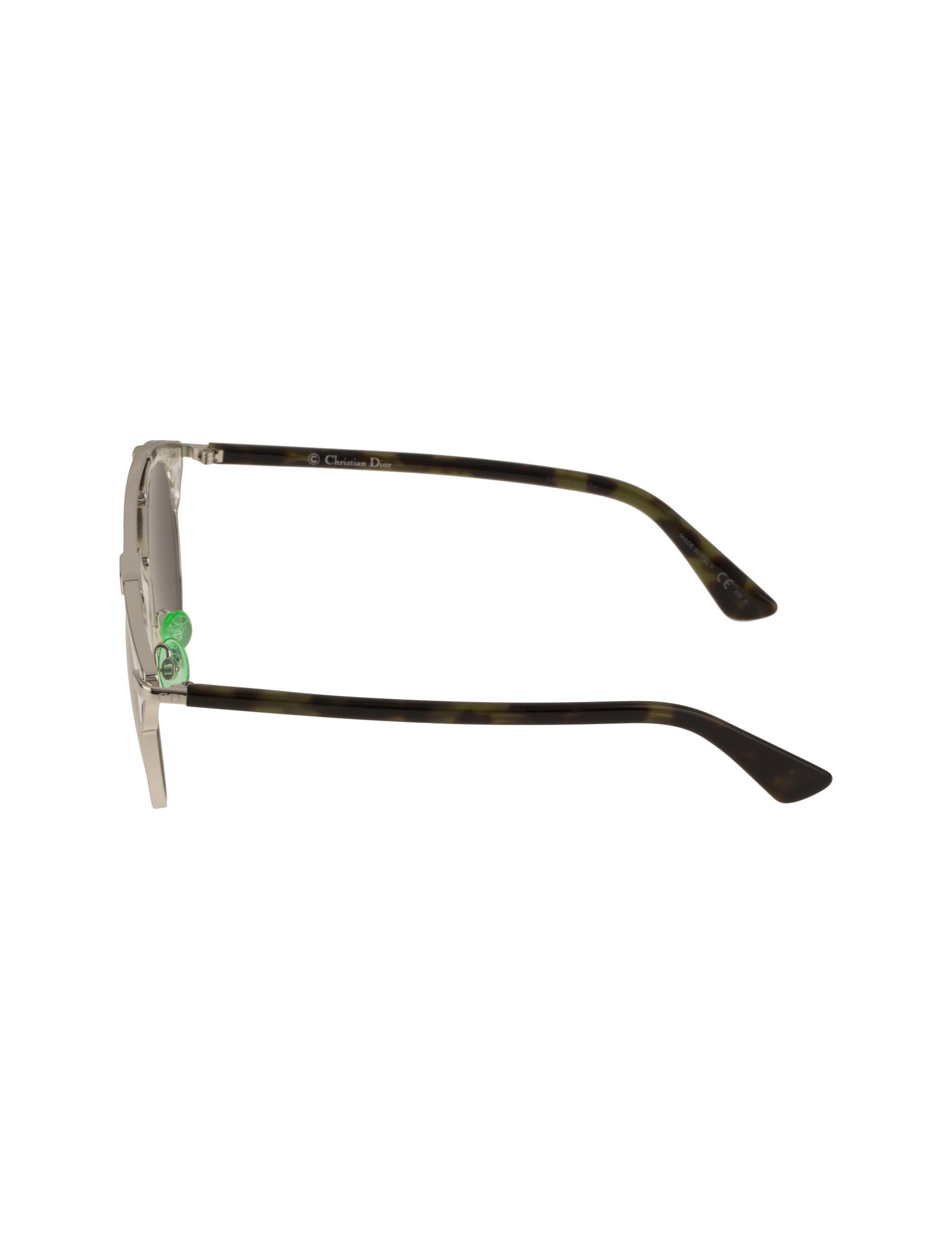عینک آفتابی پنتوس زنانه - دیور - نقره اي - 3