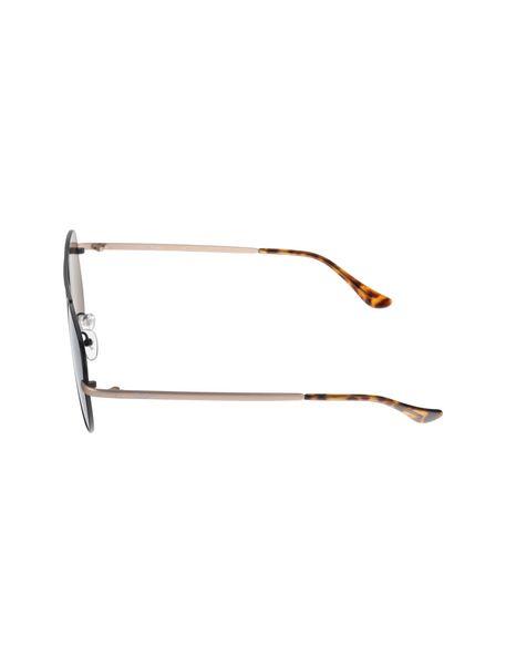 عینک آفتابی خلبانی زنانه - مشکي و طلايي - 3