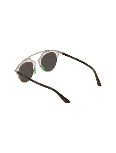 عینک آفتابی پنتوس زنانه - دیور - نقره اي - 4