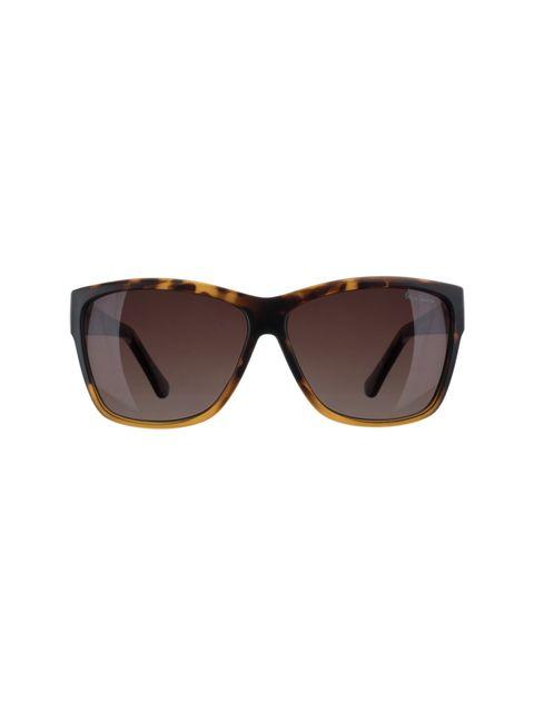 عینک آفتابی مربعی زنانه - قهوه اي  - 1