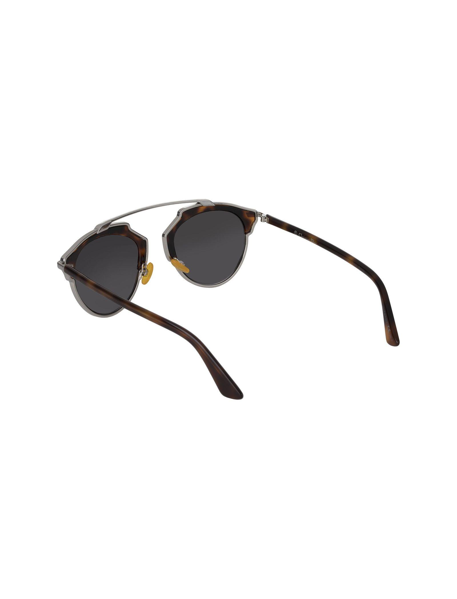 عینک آفتابی پنتوس زنانه - دیور - قهوه اي  - 4
