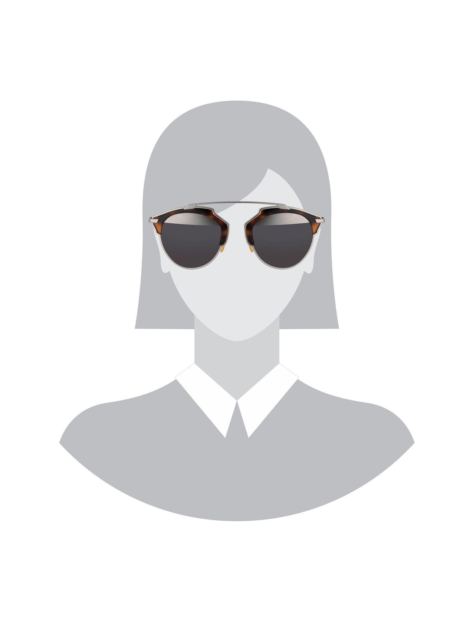 عینک آفتابی پنتوس زنانه - دیور - قهوه اي  - 5