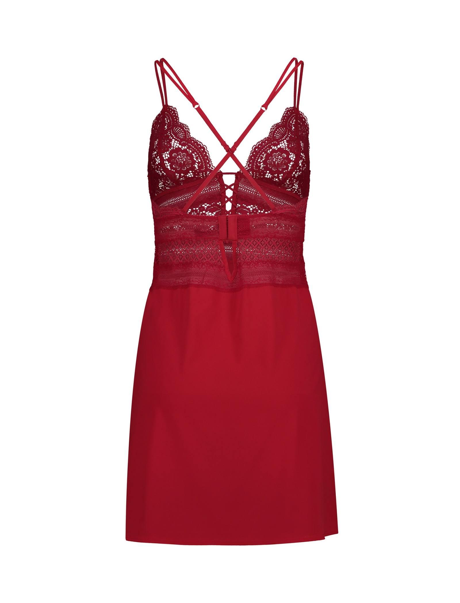 لباس خواب یک تکه زنانه - اتام - قرمز - 2