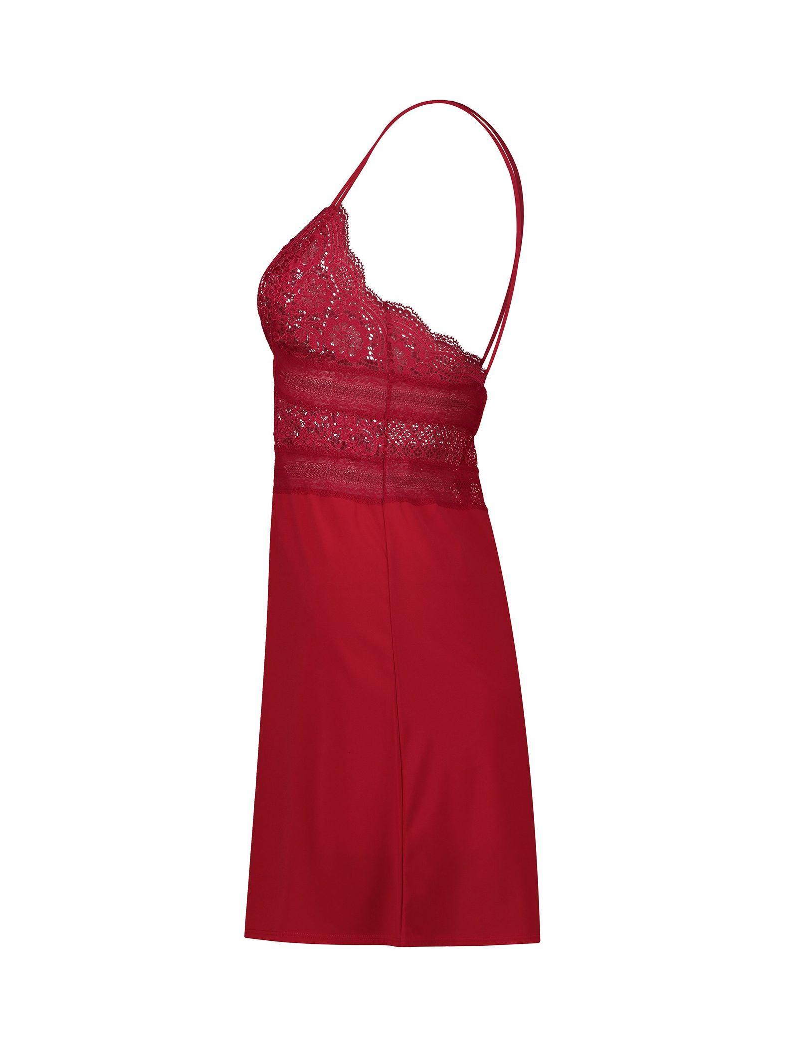 لباس خواب یک تکه زنانه - اتام - قرمز - 3