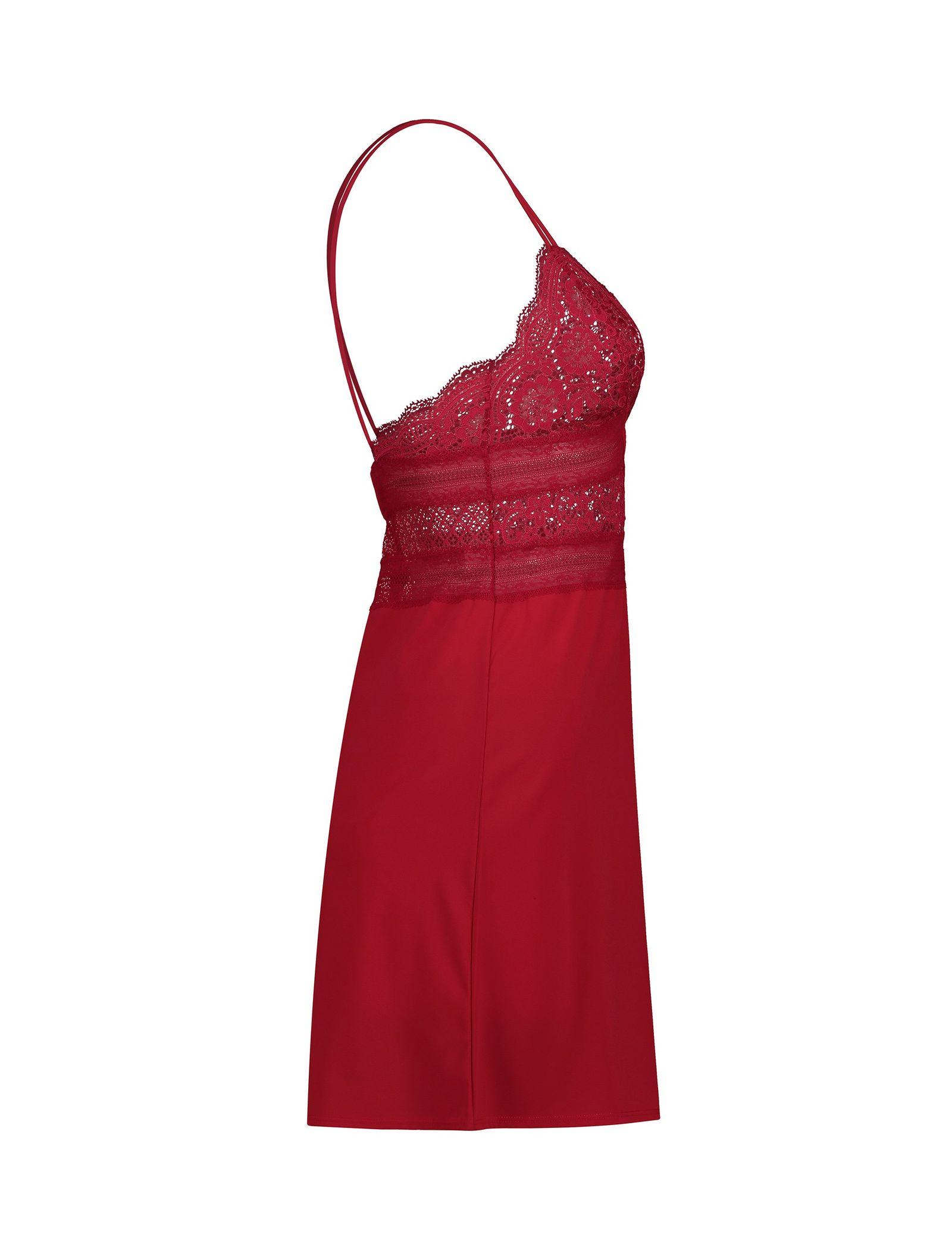 لباس خواب یک تکه زنانه - اتام - قرمز - 4