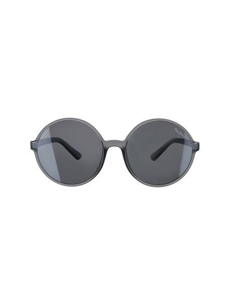 عینک آفتابی گرد زنانه - طوسي - 1
