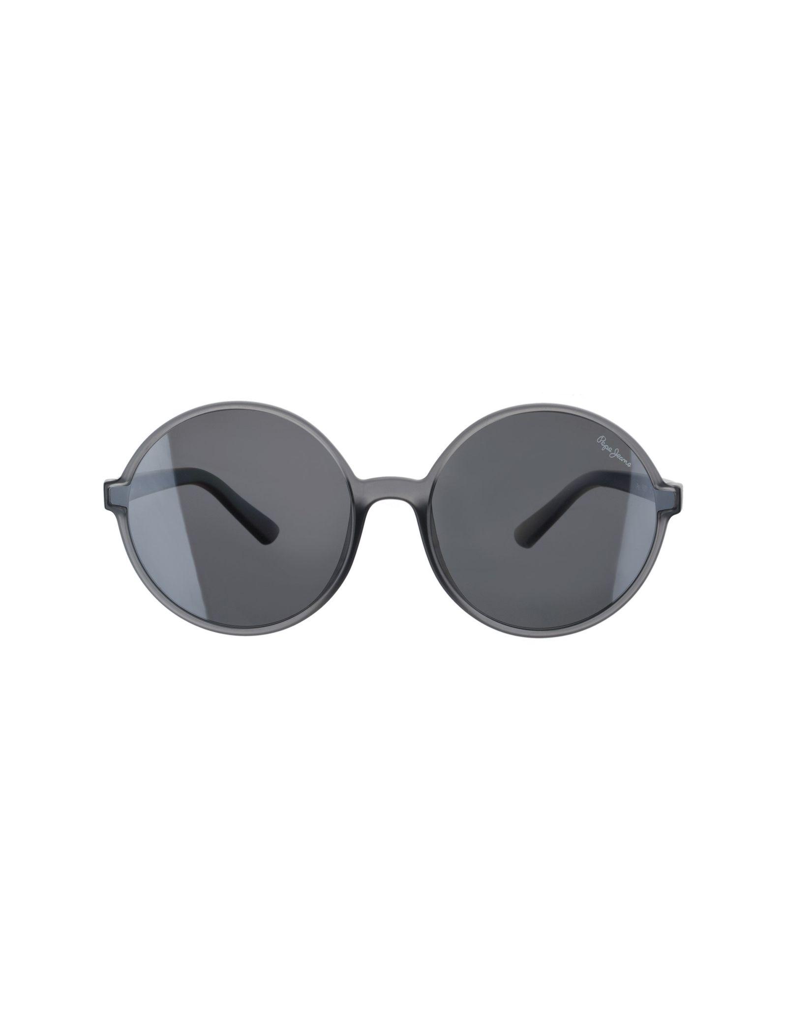 عینک آفتابی گرد زنانه - پپه جینز - طوسي - 1