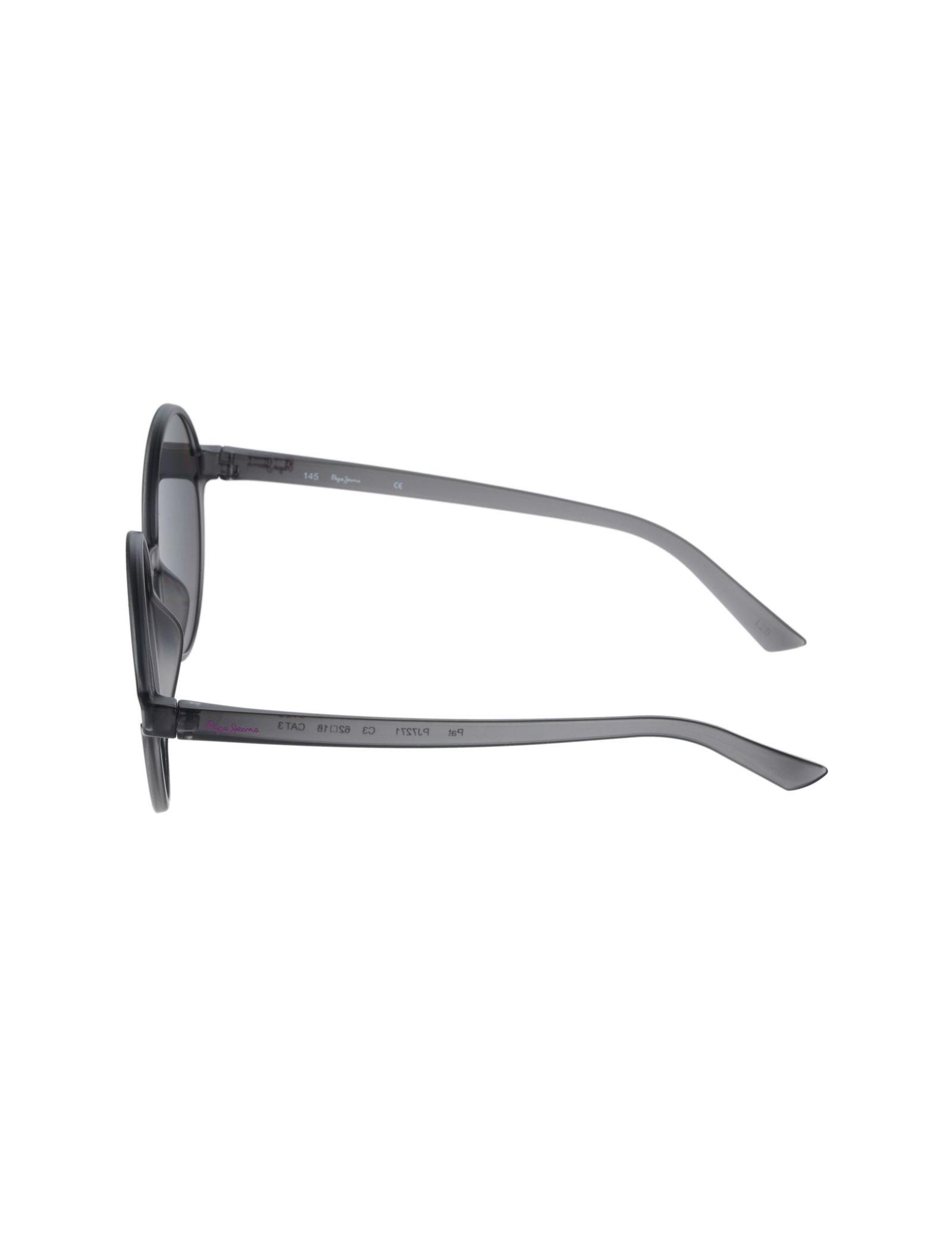 عینک آفتابی گرد زنانه - پپه جینز - طوسي - 3