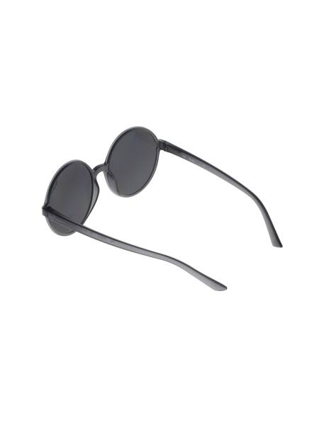 عینک آفتابی گرد زنانه - طوسي - 4