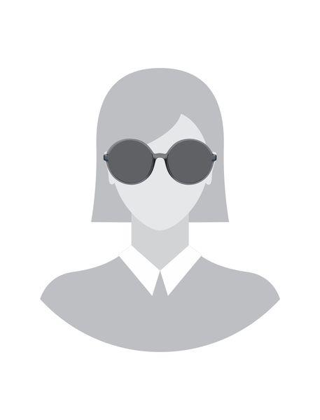 عینک آفتابی گرد زنانه - طوسي - 5