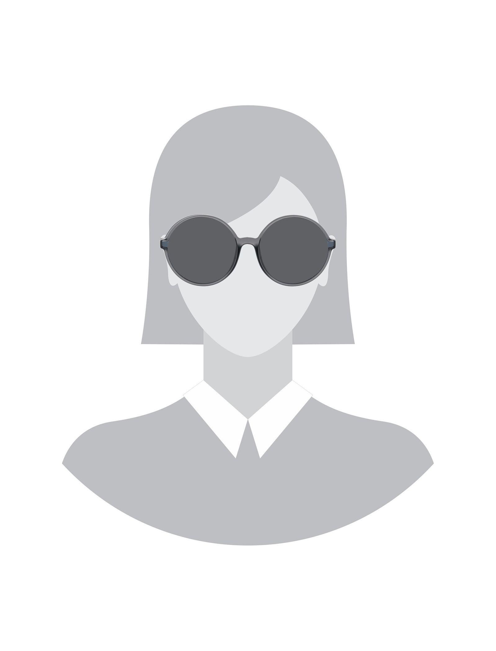 عینک آفتابی گرد زنانه - پپه جینز - طوسي - 5