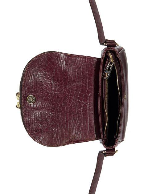 کیف دوشی چرم روزمره زنانه - زرشکي - 6