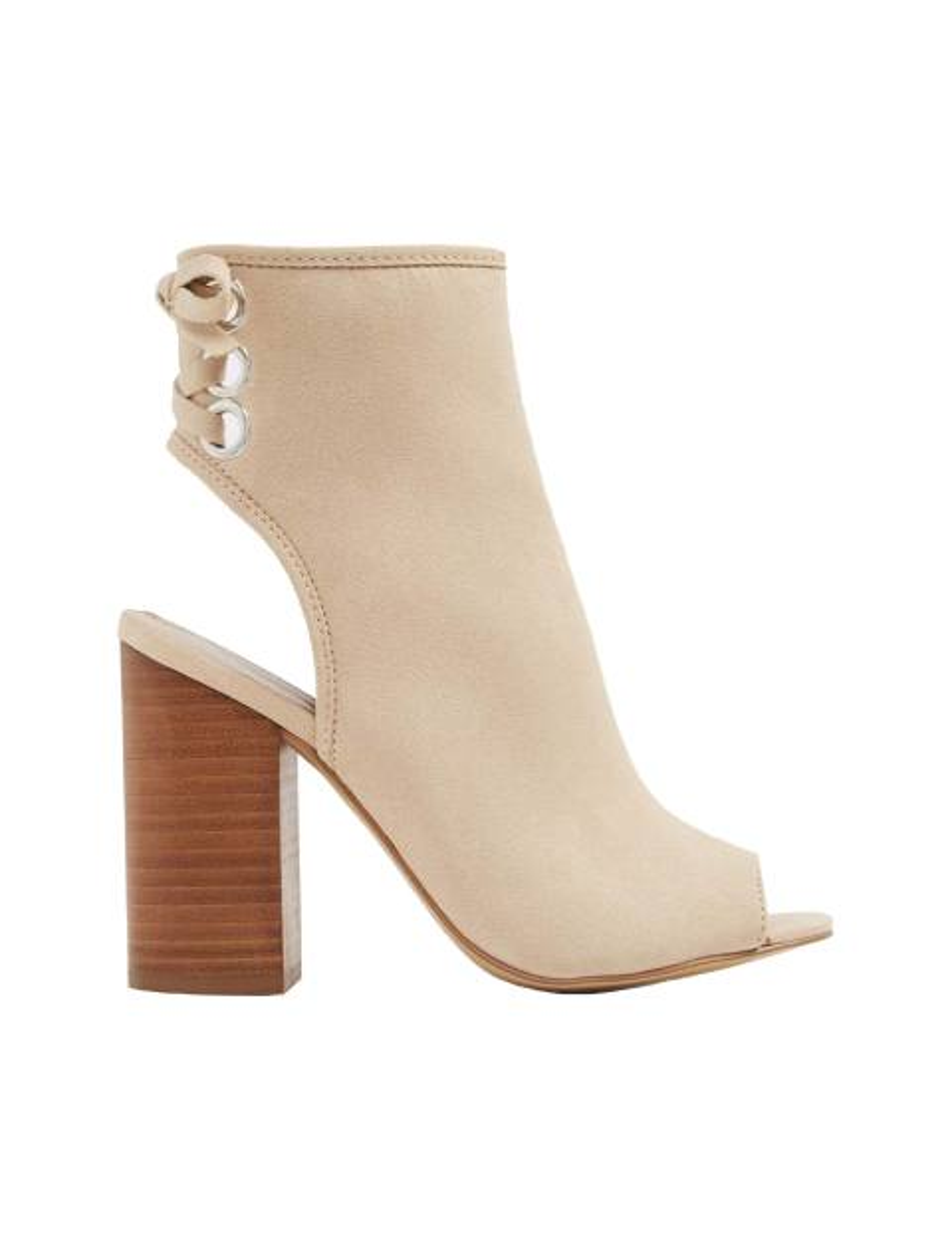 کفش پاشنه بلند زنانه - کرم - 1