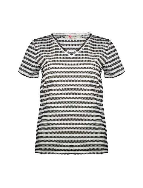 تی شرت یقه هفت زنانه - کوتون