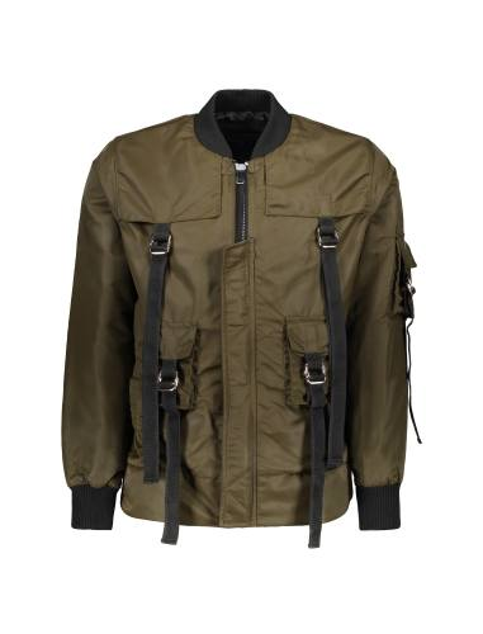 کاپشن کوتاه مردانه Green Straight Jacket - یونیتی