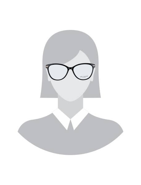عینک طبی ویفرر زنانه - مشکي - 5