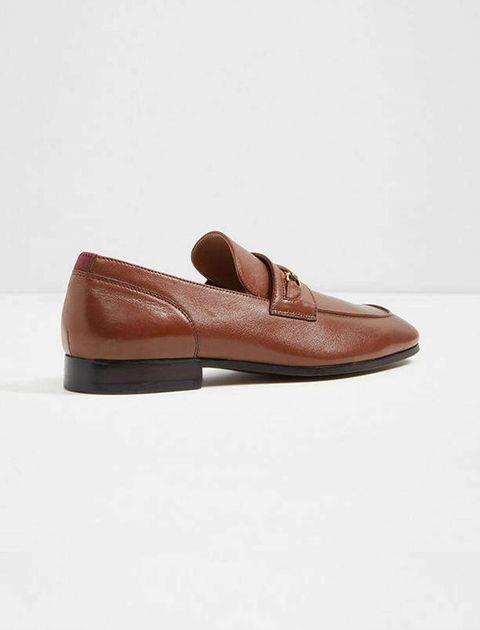 کفش اداری چرم مردانه - قهوه اي - 3