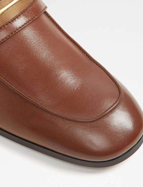 کفش اداری چرم مردانه - آلدو - قهوه اي - 4