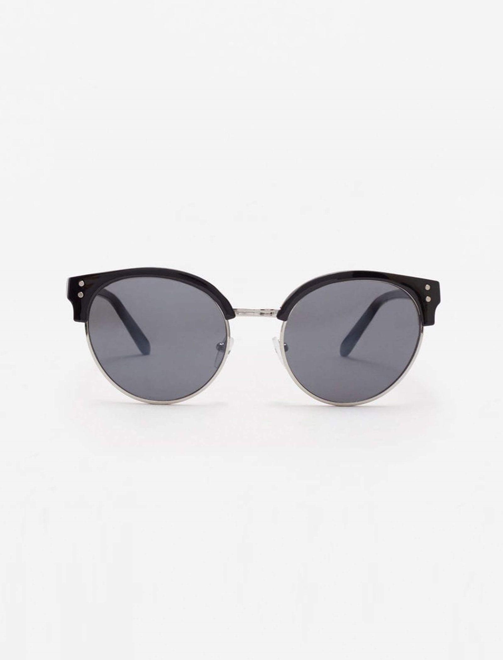 عینک آفتابی پنتوس زنانه - مانگو - مشکي - 1