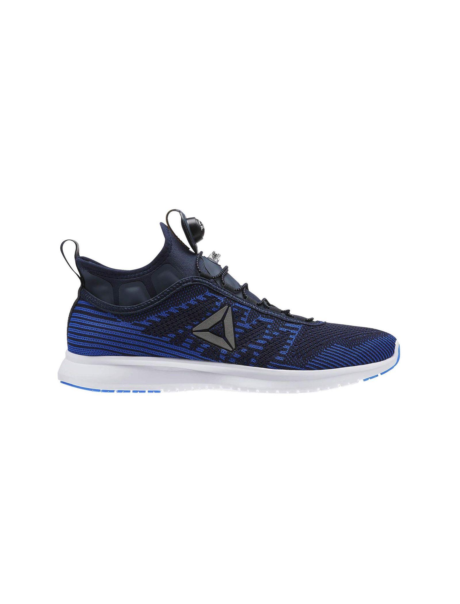 کفش دویدن بندی مردانه Pump Plus Ultraknit - ریباک - آبي سرمه اي - 1
