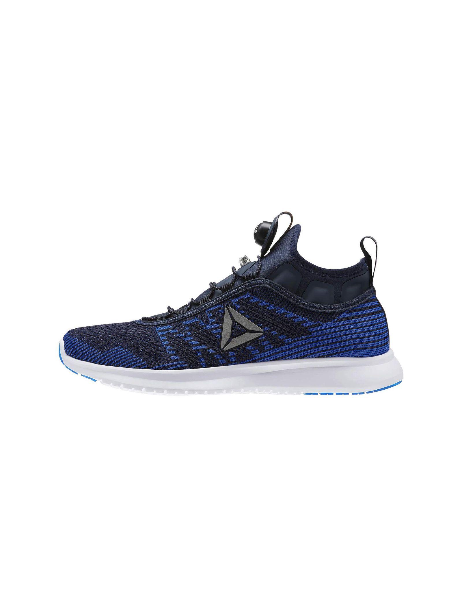 کفش دویدن بندی مردانه Pump Plus Ultraknit - ریباک - آبي سرمه اي - 3