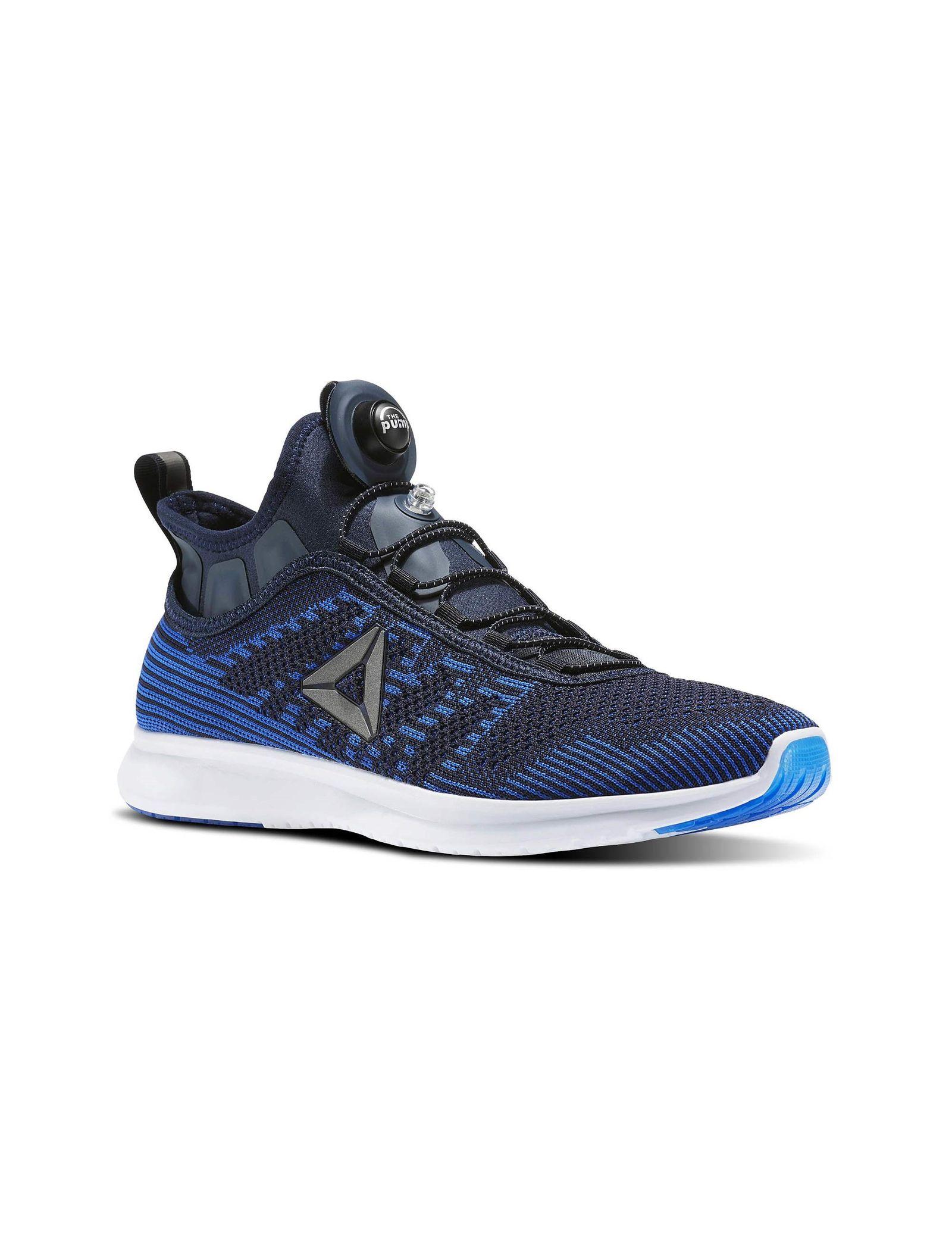 کفش دویدن بندی مردانه Pump Plus Ultraknit - ریباک - آبي سرمه اي - 4