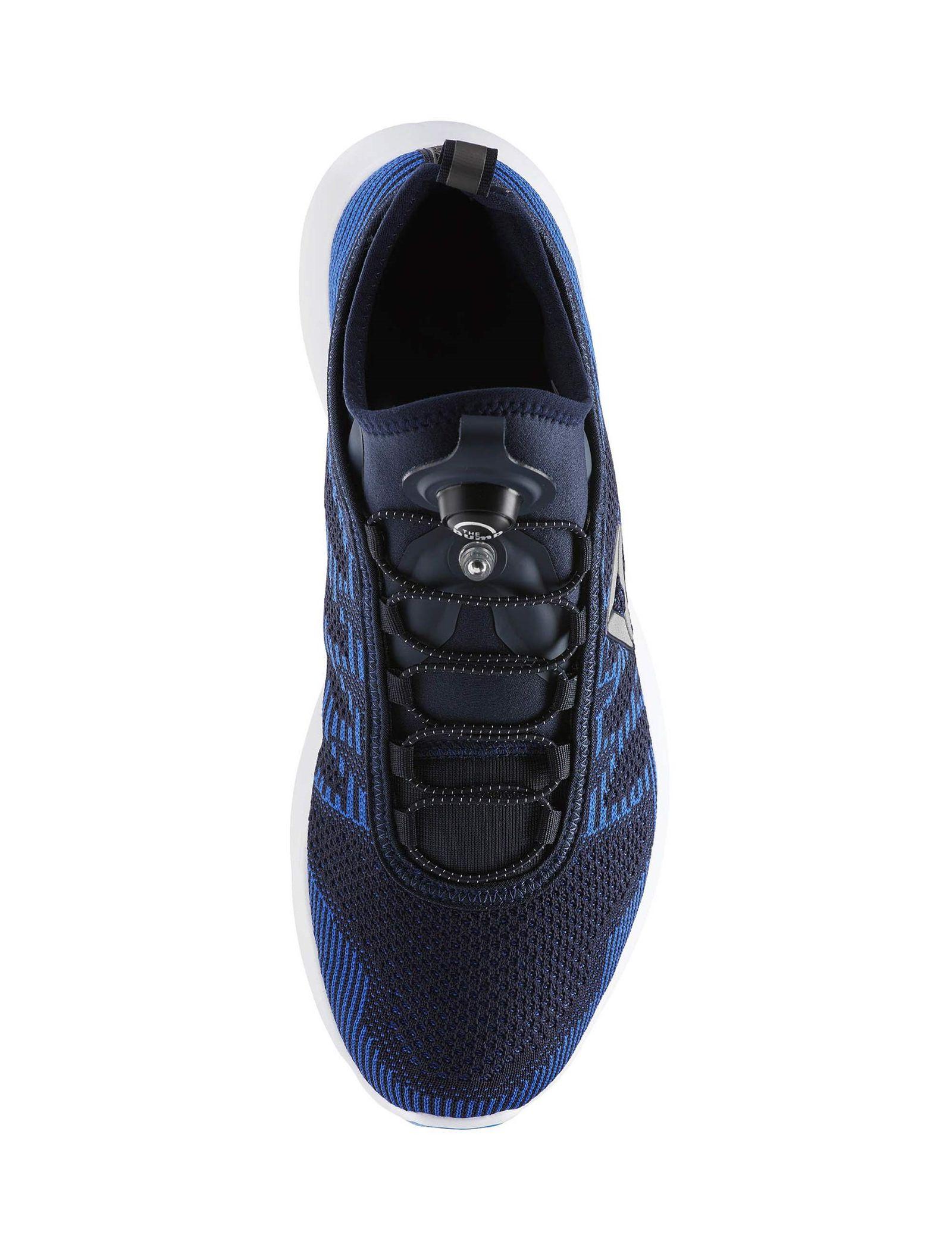 کفش دویدن بندی مردانه Pump Plus Ultraknit - ریباک - آبي سرمه اي - 5